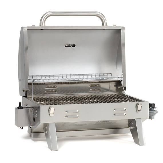 Stainless-Steel Tabletop Propane Grill
