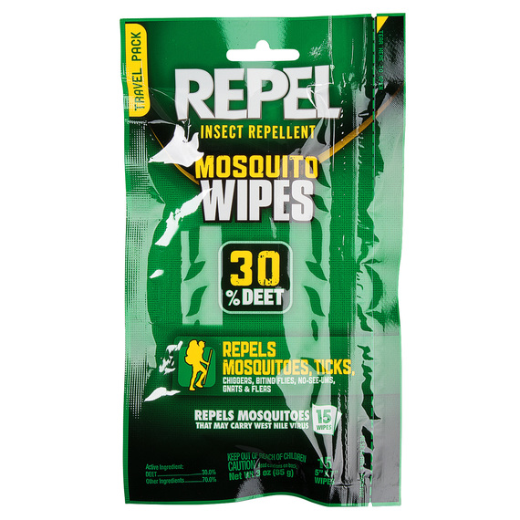 Insect Repellent 30% DEET Mosquito Wipes