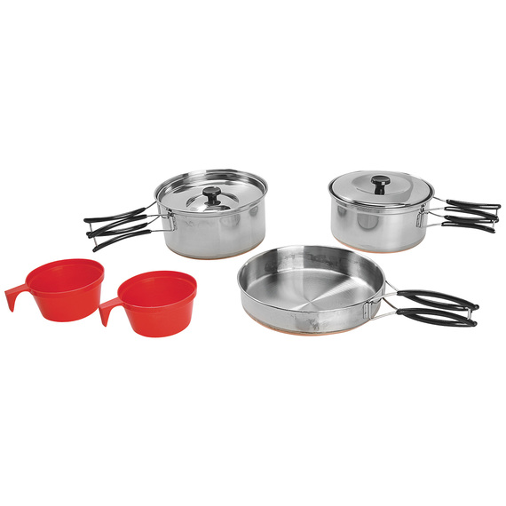 2-Person Stainless-Steel Cook Set