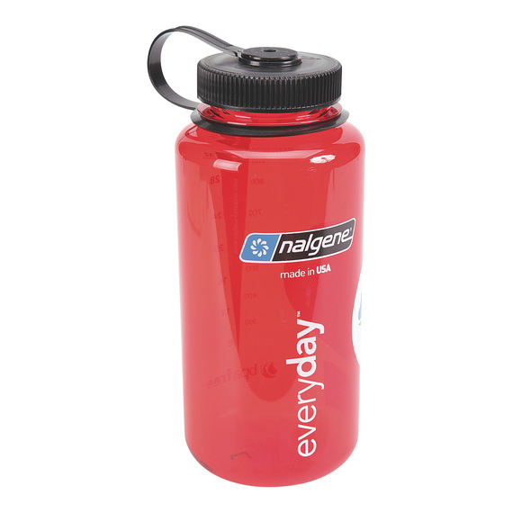 Tritan Wide Mouth 1-Qt. Water Bottle - Red