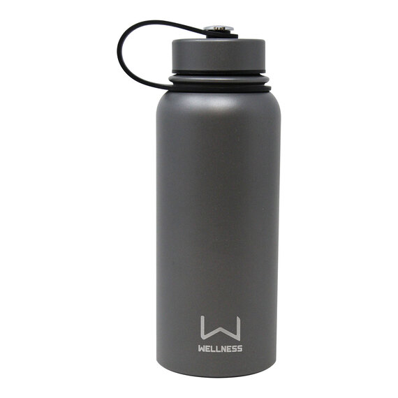 30-oz. Powder Coated Double-Wall Stainless Steel Bottle