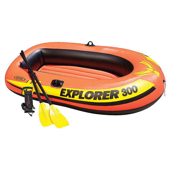 Explorer 300 3-Person Inflatable Boat Set