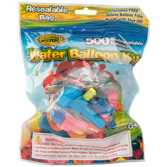 Water Balloon Refill Kit - 500 Balloons