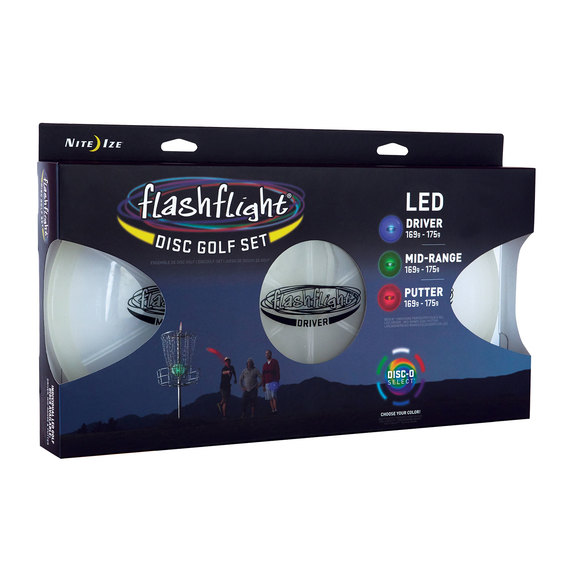 Flashlight LED Disc Golf Set