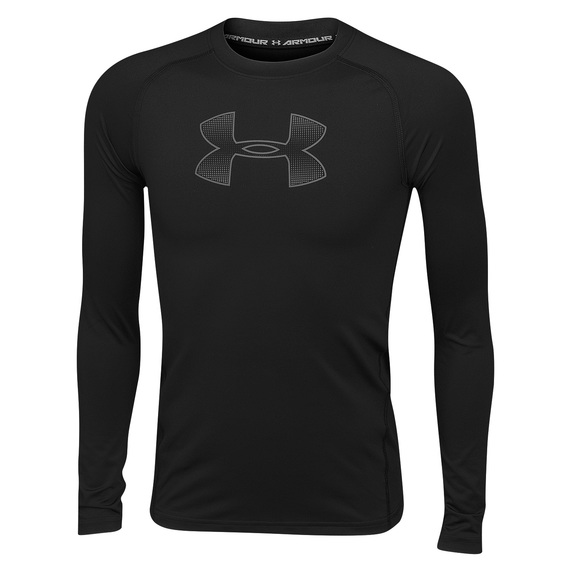 Boys' HeatGear® Armour Long-Sleeve Shirt
