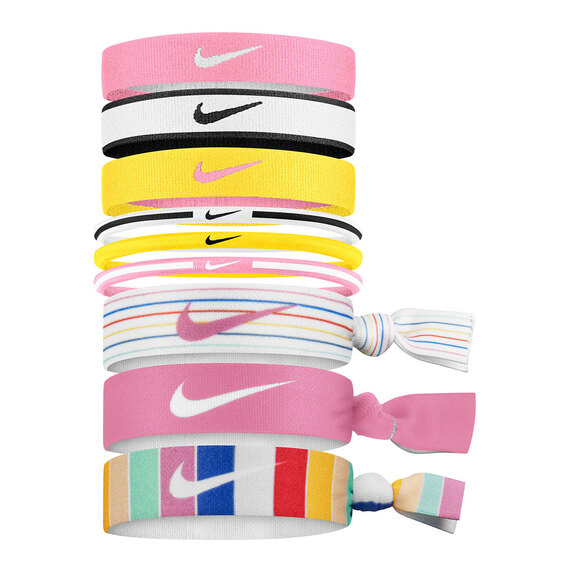 Girls' Mixed Ponytail Bands - 9-Pack
