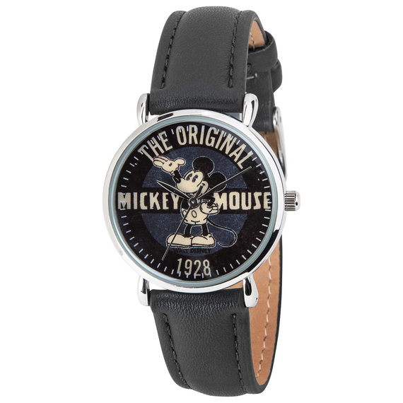 Mickey Vintage Since 1928 Poster Black Women's Watch  - view 1