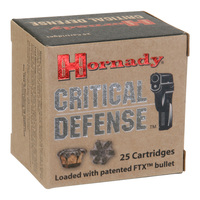 Hornady Critical Defense .380 Auto Ammunition