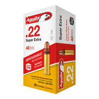 Aguila Ammunition Super Extra High-Velocity .22LR Ammo