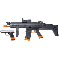 FN HERSTAL SCAR-L AEG Rifle and Spring Pistol Airsoft Kit
