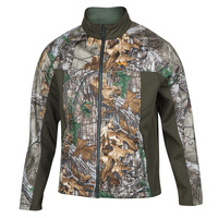 Walls Men's Softshell Camo Jacket