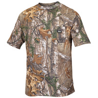 Walls Men's Short-Sleeve Camo Pocket Shirt