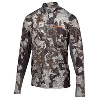 Nomad Men's Cooling 1/4 Zip Camo Shirt