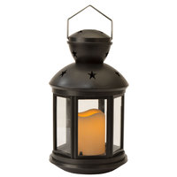 Fine Life LED Candlelight Lantern with Flameless Candle