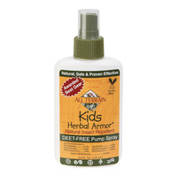 All Terrain Kid's Herbal Armor Insect Repellent - 4-oz. Spray Bottle