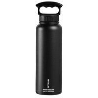 Fifty Fifty 40-oz. Stainless Steel Double-Wall Vacuum-Insulated Bottle