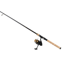 Daiwa D Shock Spin Reel and Fiberglass Rod Spin Combo