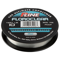 P-Line Floroclear Fluorocarbon Coated Fishing Line