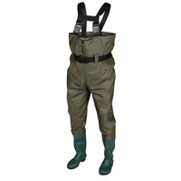 Caddis Men's PVC Chest Waders with Boots