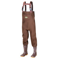 Pro Line Men's Boot-Foot Chest Waders