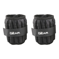 Go Time Gear 10-lb. Adjustable Ankle Weight Set
