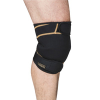 Copper Fit Rapid Relief Knee Wrap with Hot/Cold Gel Pack
