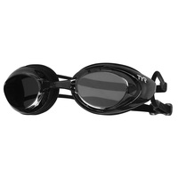 TYR Black Hawk Mirrored Swim Goggles