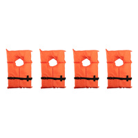 X2O Near Shore Buoyant Life Vests - 4-Pack