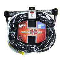 Hydroslide 75' 2-Section Water Ski Rope