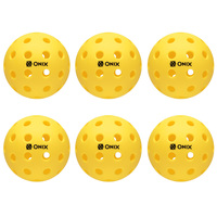 Onix Fuse Outdoor Pickleballs - 6-Pack