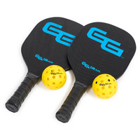 Go Time Gear Wood Pickleball Paddle and Ball Set