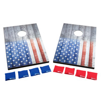 Wild Sports Stars and Stripes Cornhole Tailgate Toss Game