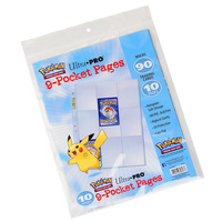 Ultra Pro Pokémon 9 Pocket Pages