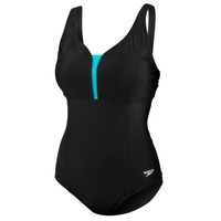Speedo Women's Princess Seam One-Piece Swimsuit