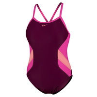 Nike Women's Color Surge Crossback One-Piece Swimsuit