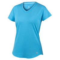 FREE2B Women's Chill Scallop Hem Tee