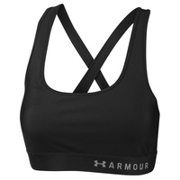 Under Armour Women's Mid Pad Crossback Sports Bra