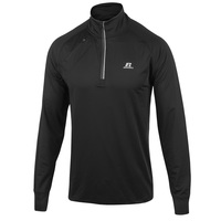 Russell Athletic Men's 1/4 Zip Knit Long-Sleeve Top