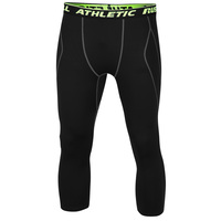 Russell Athletic Men's 3/4 Compression Leggings