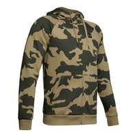 Under Armour Men's Rival Camo Fleece Full-Zip Hoodie