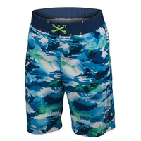 Free Country Boys' Shark Zone E-Boardshorts