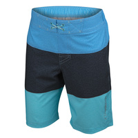 Free Country Boys' Texture Print Color Block E-Boardshorts