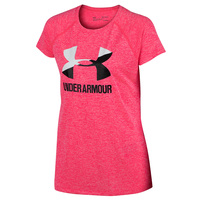 Under Armour Girls' Big Logo Twist Tee