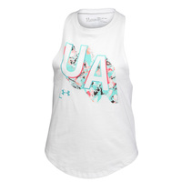 Under Armour Girls' Print Fill Tank Top