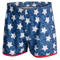 TEC-ONE Girls' Heathered Stars Shorts
