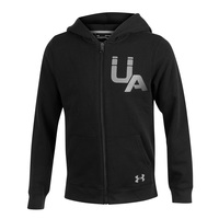 Under Armour Boys' Rival Logo Full-Zip Hoodie