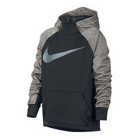 Nike Boys' Therma Pullover Training Hoodie