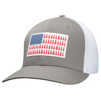 Columbia Men's Tree Flag Fitted Ball Cap