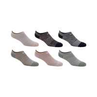 Nike Women's Everyday Lightweight No-Show Training Socks - 6-Pack