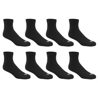 Wilson Men's Athletic Quarter Crew Socks - 8-Pack